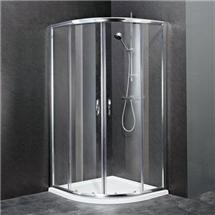 Ella Quadrant Shower Enclosure with Pearlstone Tray - 900 x 900mm - ERQ9-NTP106 Medium Image