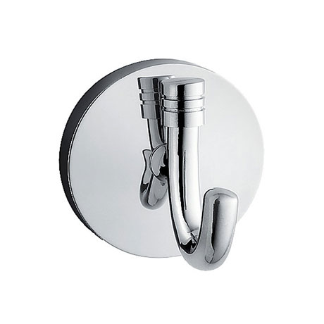 Smedbo Studio Single Towel Hook - Polished Chrome - NK355