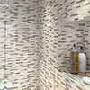 Nile Stone Mosaic Tile Sheet - 298 x 305mm profile small image view 1