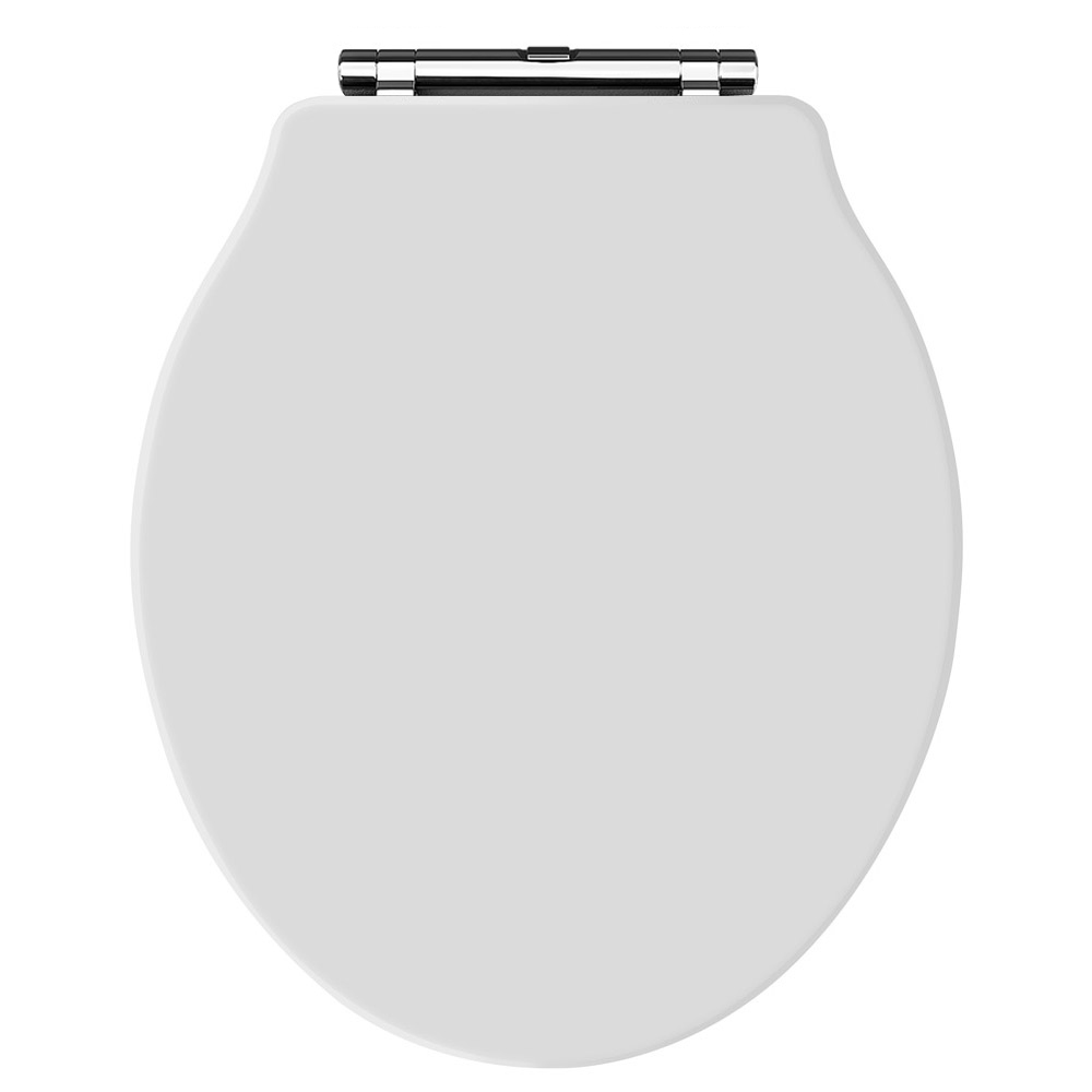 Old London - White Soft Close Toilet Seat (For Chancery Toilets) - NLS198 Large Image