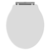 Old London - White Soft Close Toilet Seat (For Chancery Toilets) - NLS198 profile small image view 1