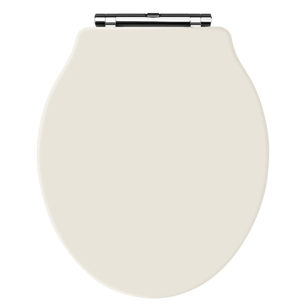 Old London - Ivory Soft Close Toilet Seat (For Chancery Toilets) - NLS398 Large Image