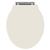 Old London - Ivory Soft Close Toilet Seat (For Chancery Toilets) - NLS398 profile small image view 1