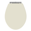 Old London Ivory Wooden Soft Close Seat For Richmond Toilets - NLS399 Small Image