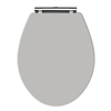 Old London Stone Grey Wooden Soft Close Seat For Richmond Toilets - NLS499 Small Image