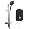 Bristan Noctis 8.5kw Electric Shower - Black & Chrome - NOC85-BC profile small image view 1