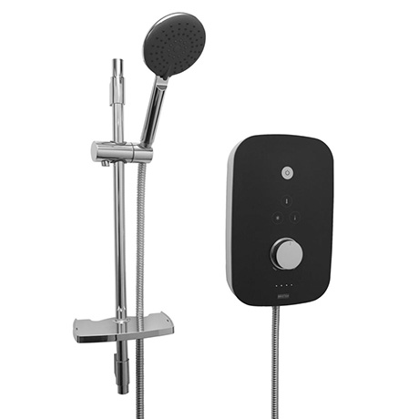 Bristan Noctis 9.5kw Electric Shower - Black & Chrome - NOC95-BC