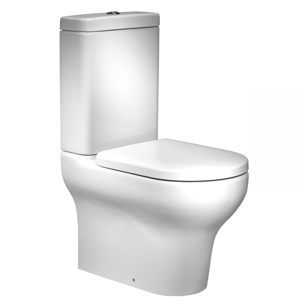 Roper Rhodes Note Close Coupled WC, Cistern & Soft Close Seat Large Image