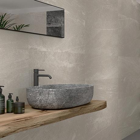 Novus Beige Stone Effect Wall Tiles - 300 x 900mm