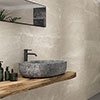 Novus Beige Stone Effect Wall Tiles - 300 x 900mm Small Image