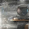 Novus Grey Stone Effect Wall and Floor Tiles - 300 x 900mm Small Image
