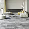 Novus Grey Stone Effect Wall and Floor Tiles - 600 x 600mm Small Image
