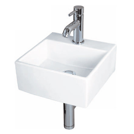 RAK - Nova Mini Square 1 Tap Hole Basin - NOVA30 Large Image