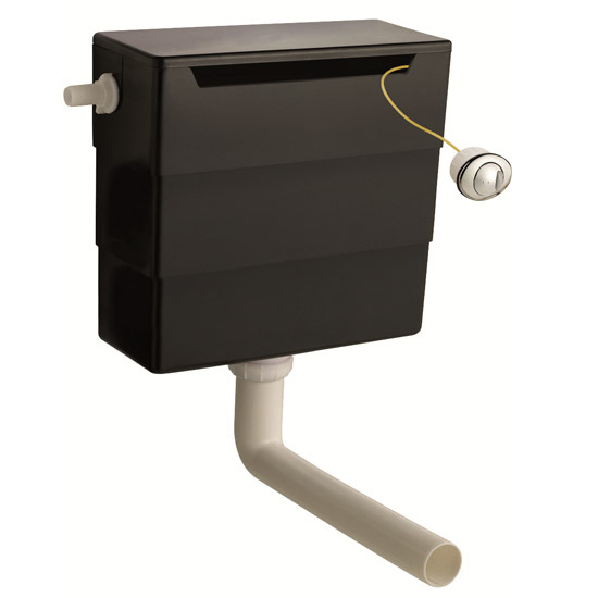 Nova 500mm BTW Toilet Unit Inc. Cistern + Soft Close Seat (Depth 200mm) Profile Large Image