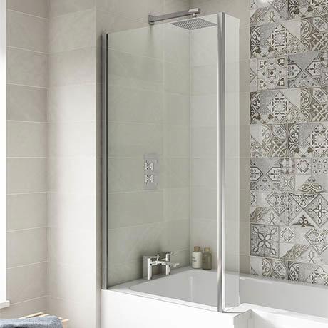 Premier 1400 Quattro Fixed Bath Screen - NSBS2