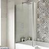 Premier 1400 Quattro Fixed Bath Screen - NSBS2 profile small image view 1