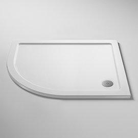Pearlstone LH Offset Quadrant Shower Tray