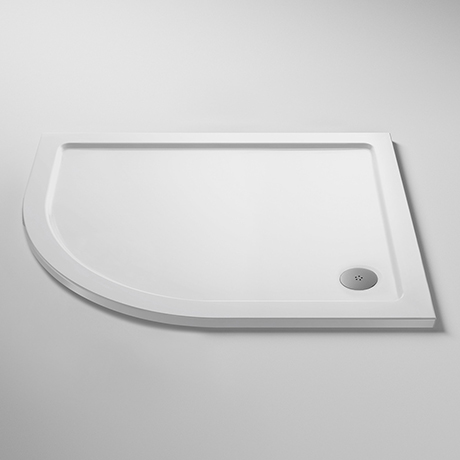 Pearlstone LH Offset Quadrant Shower Tray
