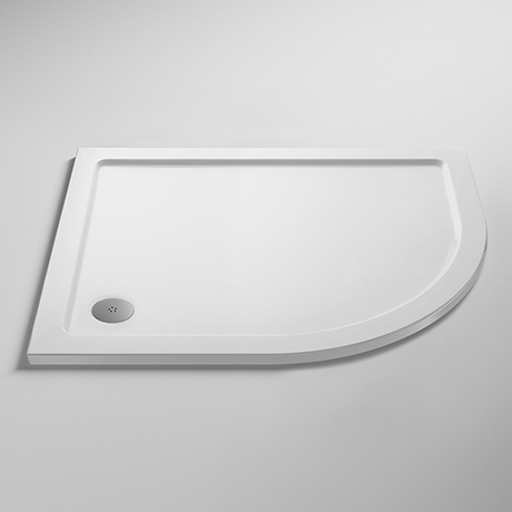 Pearlstone RH Offset Quadrant Shower Tray
