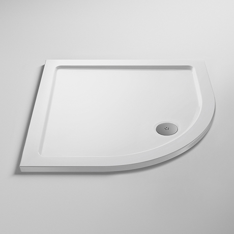 Pearlstone Quadrant Shower Tray