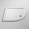 Pearlstone Quadrant Shower Tray profile small image view 1