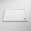 Pearlstone Rectangular Shower Tray profile small image view 1