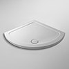 Pearlstone Single Entry Shower Tray - 914x914mm profile small image view 1