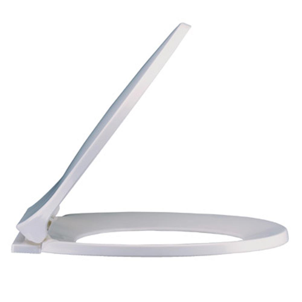 Standard Soft Close Toilet Seat - White profile large image view 2