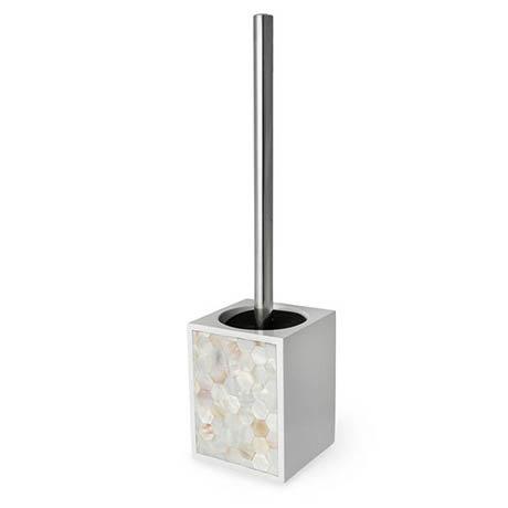 Nuvo Freestanding Toilet Brush & Holder