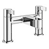 Nova Modern Bath Taps - Chrome profile small image view 1