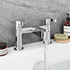 Nova Modern Bath Taps - Chrome profile small image view 1