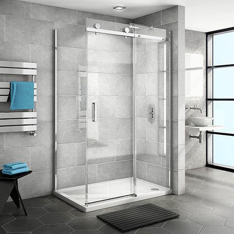 Nova Frameless 1000 x 700 Sliding Door Shower Enclosure