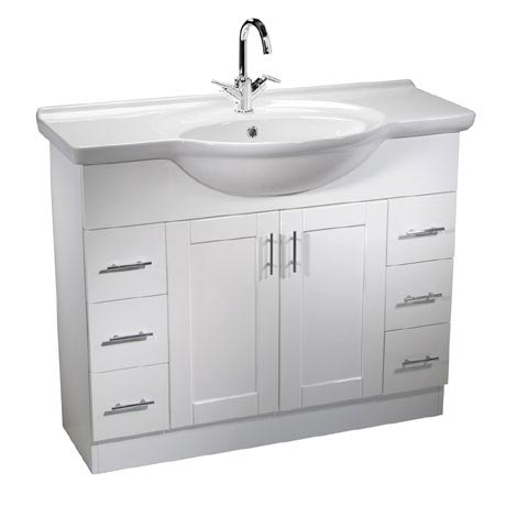 Roper Rhodes New England 1000mm Freestanding Unit with Chrome Handles