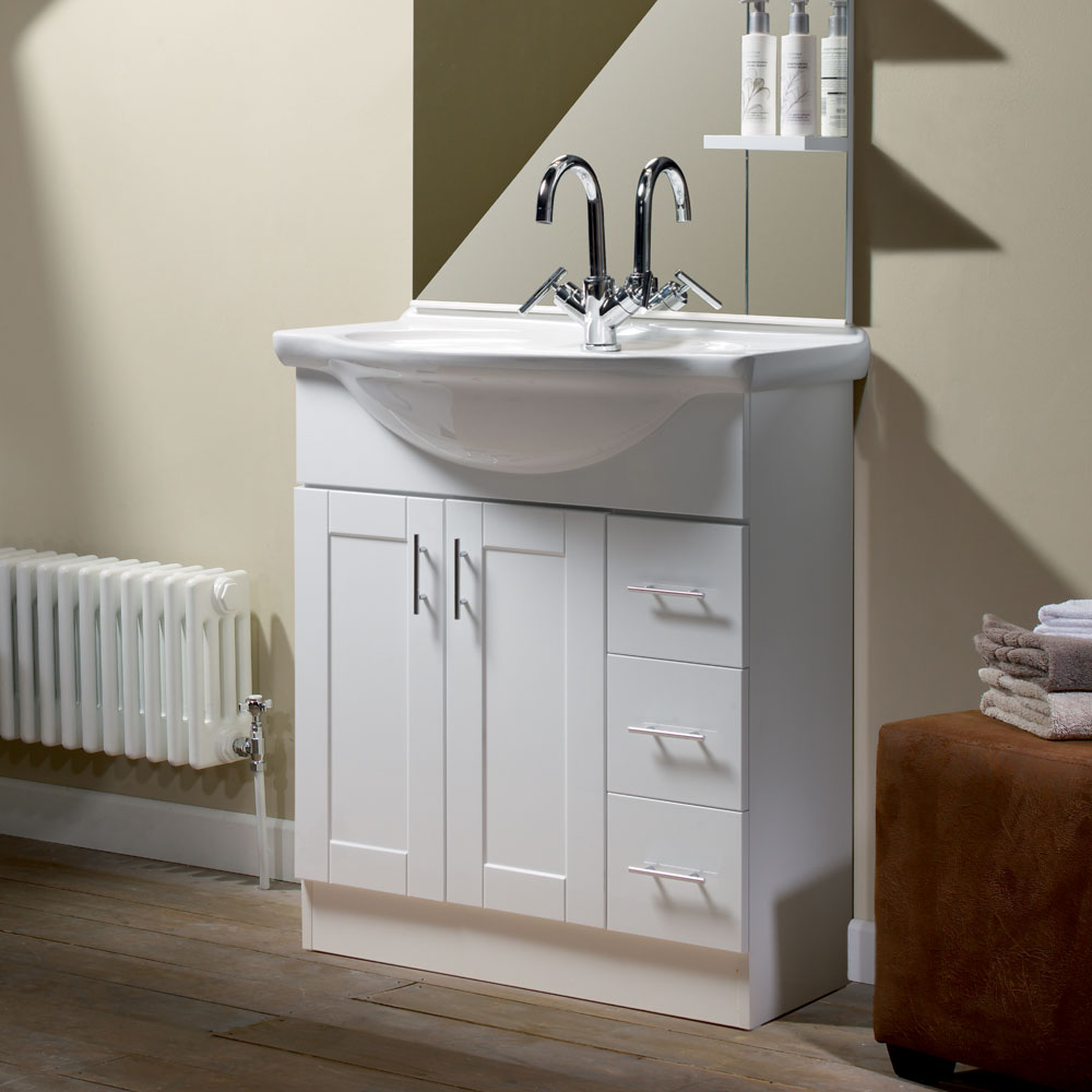 Roper Rhodes New England 700mm Freestanding Unit with Chrome Handles Feature Large Image