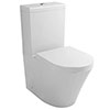 Nova BTW Close Coupled Toilet + Soft-Close Seat profile small image view 1