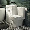 Nova Small Floor Standing 0TH Vanity + Square Toilet profile small image view 1