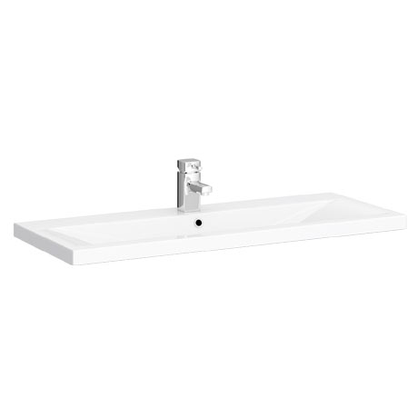 Turin 1000mm Mid Edged Basin