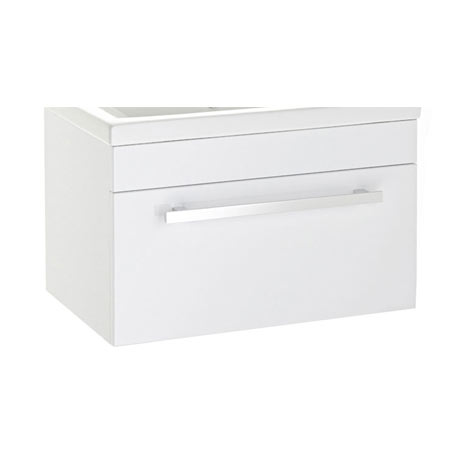 Premier 600mm Wall Hung Vanity Cabinet (excluding Basin)