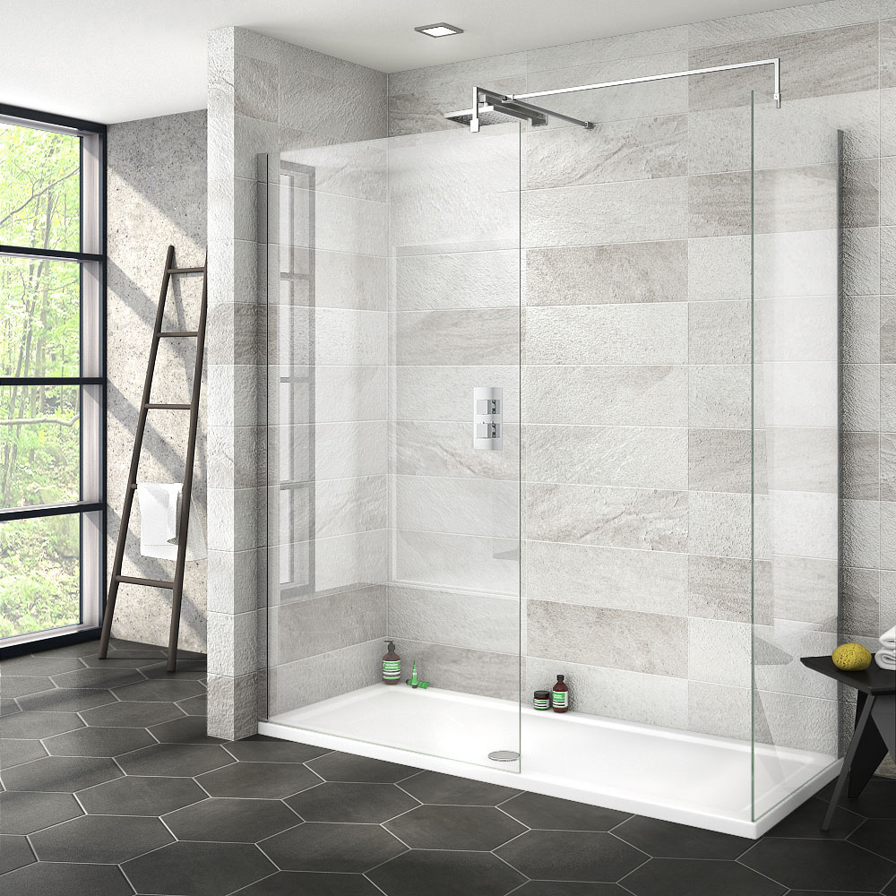 Nova 1700 x 700 Wet Room (Inc. Screen, Side Panel + Tray)