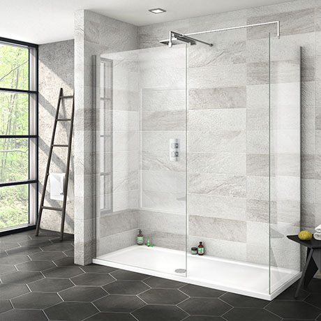 Nova 1700 x 700 Wet Room (Inc. Screen, Side Panel + Tray)