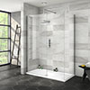 Nova 1400 x 700 Wet Room (Inc. Screen, Side Panel + Tray) profile small image view 1