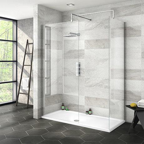 Nova 1500 x 700 Wet Room (Inc. Screen, Side Panel + Tray)
