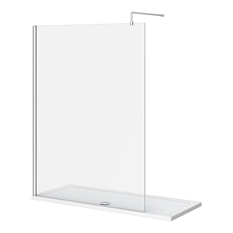 Nova 1700 x 700 Wet Room (1400mm Screen + Tray)