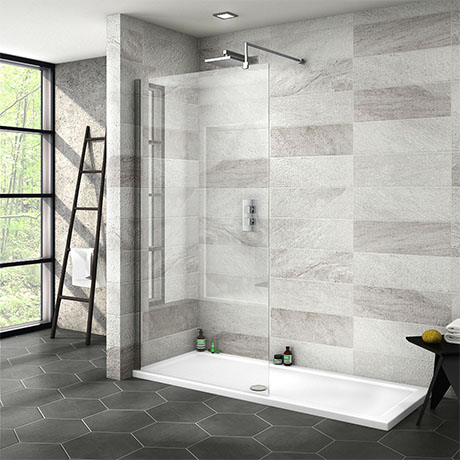 Nova 1700 x 700 Wet Room (1000mm Screen + Tray)