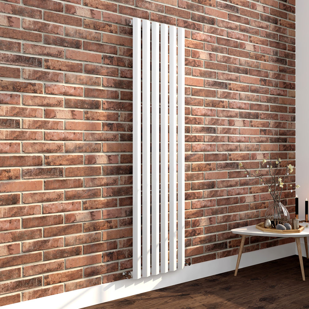 Nova 1800 x 452 Vertical White Single Panel Radiator