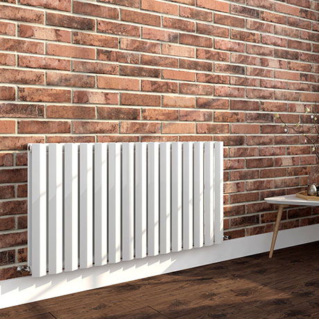 Nova 600 x 1136 Horizontal White Double Panel Radiator