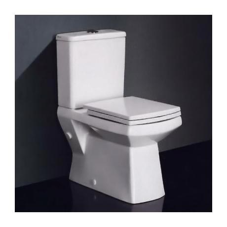square toilet seat uk. New Zeto Square Close Coupled BTW Modern Toilet with Soft Seat