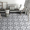 Newark Grey Wall and Floor Tiles - 200 x 200mm Small Image