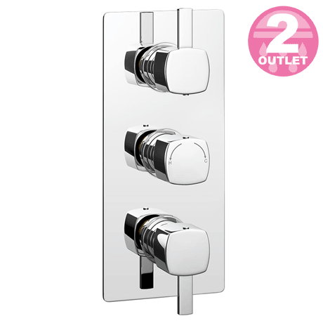Neo Concealed Thermostatic Triple Shower Valve