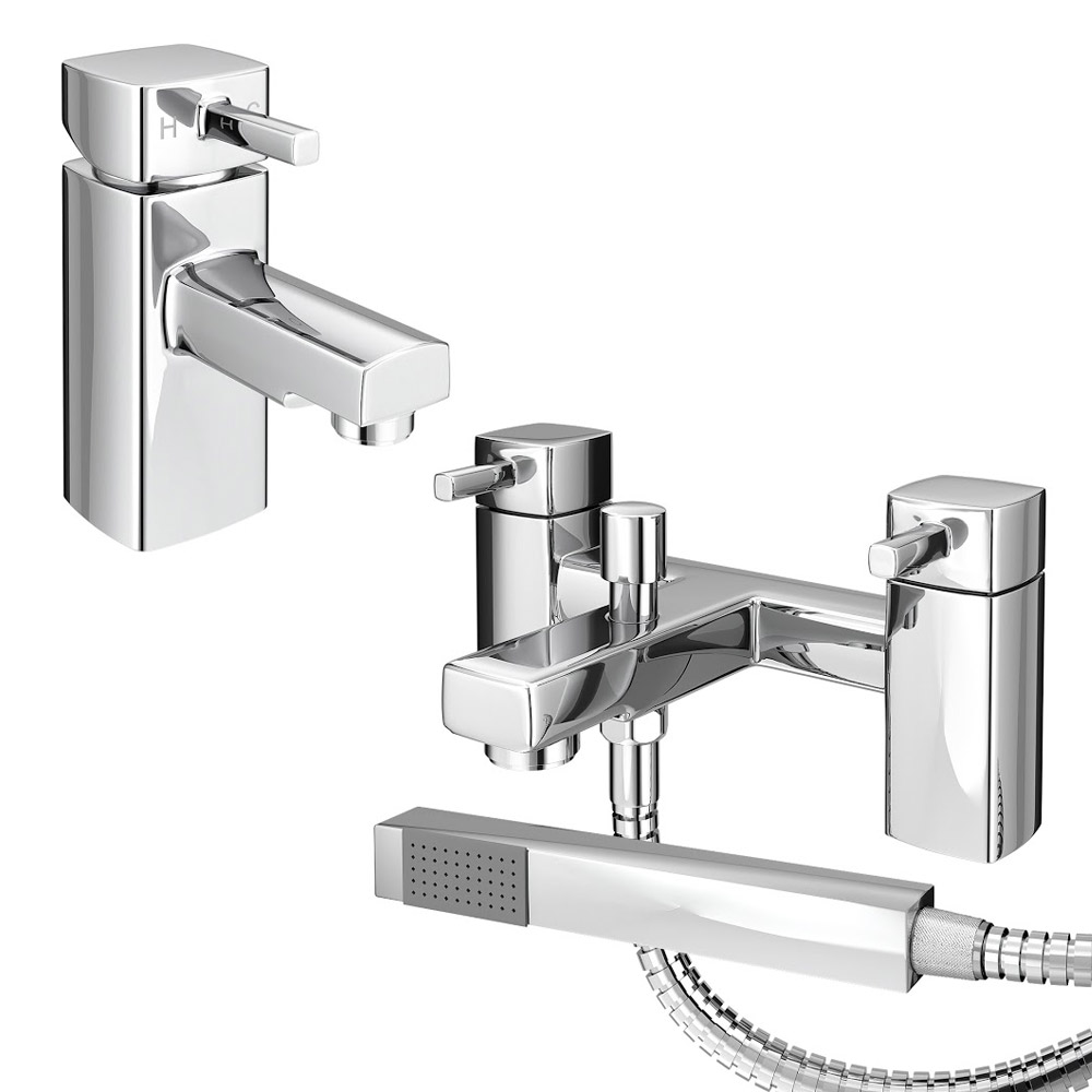 Neo Minimalist Basin and Bath Shower Mixer Taps